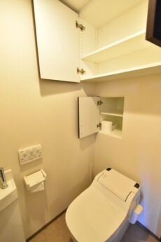 インプレストタワー芝浦エアレジデンス トイレ収納