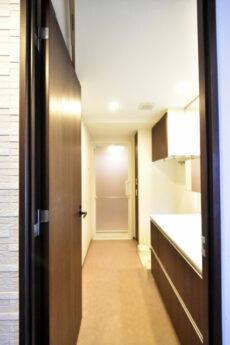 インプレストタワー芝浦エアレジデンス 洗面室