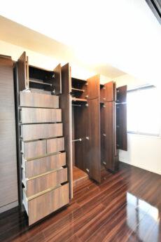 インプレストタワー芝浦エアレジデンス 洋室3収納