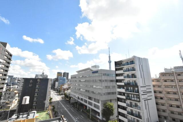 住建第6ハイプレース 8階からの眺望