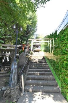 麻布十番周辺(東側)天祖神社