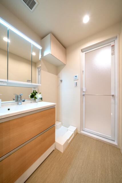 グランドメゾン麻布一の橋 洗面室