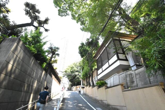目黒駅周辺 行人坂