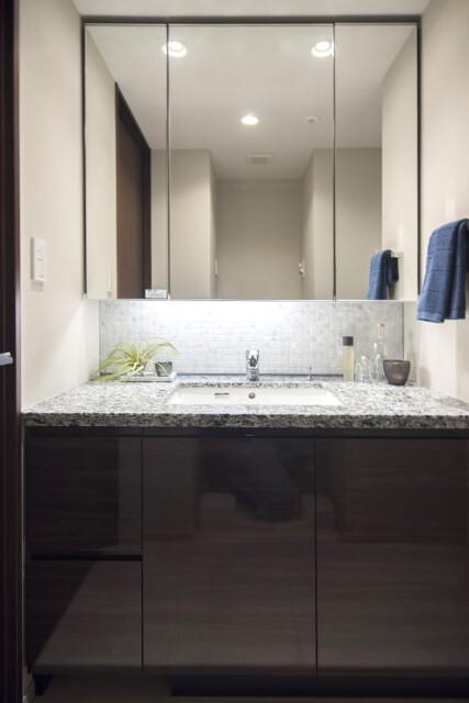 パークナード南麻布 洗面室