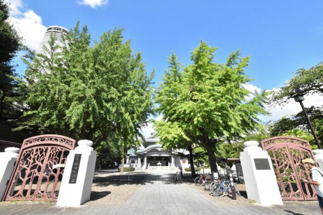 両国駅 周辺 横網町公園・東京都慰霊堂