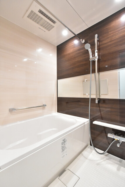 麻布狸穴ナショナルコート 浴室