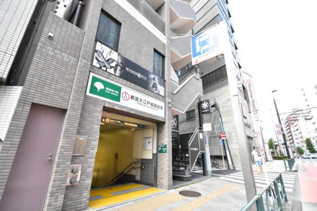 蔵前駅 大江戸線