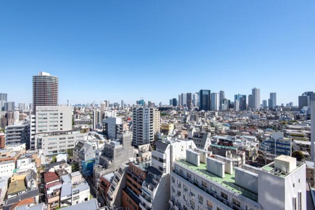 クラッシィタワー東中野 バルコニー